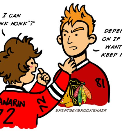 "Panarin can ""honk honk""? Sticker"