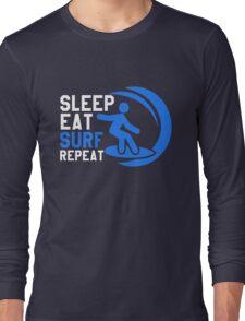 Sleep Eat Surf Repeat Long Sleeve T-Shirt
