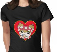 Sweet animal Womens Fitted T-Shirt