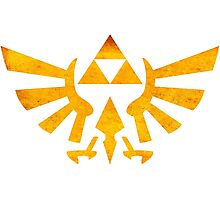 °GEEK° Triforce Rust Logo Photographic Print