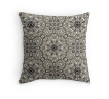 Art Deco Gatsby Girl Bling pearl pattern rhinestone  Throw Pillow