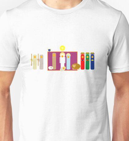 Minimalist Christmas Nativity Scene Unisex T-Shirt
