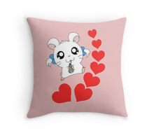 Oh my love Throw Pillow