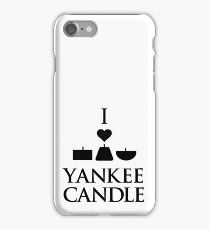 Yankee Candle I. iPhone Case/Skin
