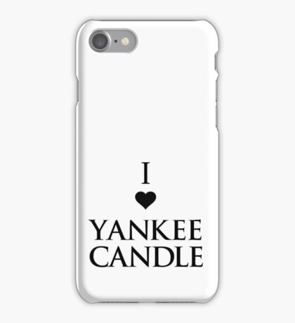 Yankee Candle II. iPhone Case/Skin