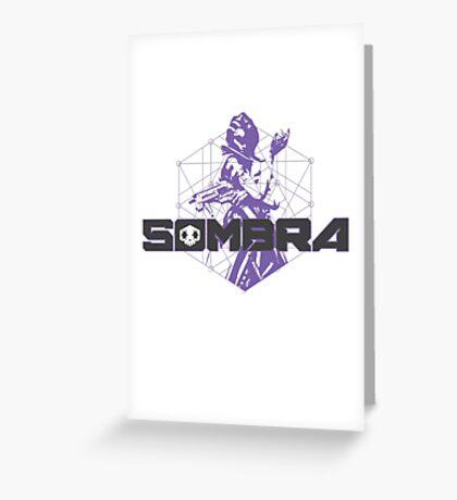 Sombra Hacker Greeting Card