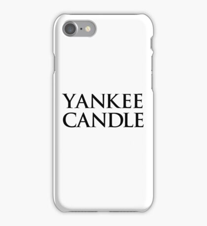 Yankee Candle III. iPhone Case/Skin