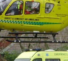 somerset air ambulance Sticker