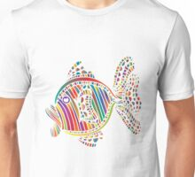 Fish Color Abstract Unisex T-Shirt