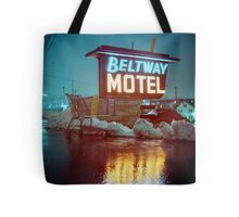 Evening at the Beltway Motel Tote Bag