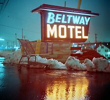 Evening at the Beltway Motel by DanielRegner
