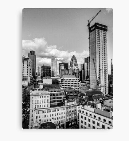 London Monochrome Canvas Print