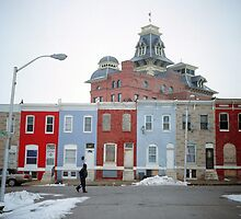 Rowhomes in Baltimore by Daniel Regner