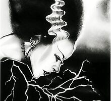 Bride of Frankenstein by RayneArt