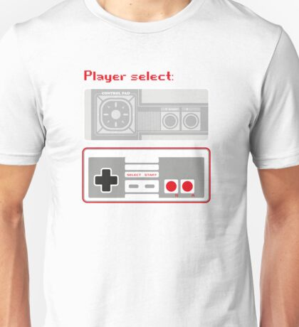 Select player 02 Unisex T-Shirt