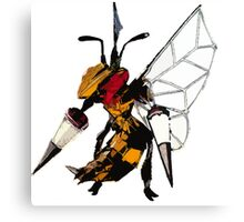 Beedrill- Techno Canvas Print