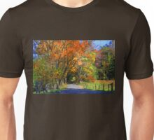 A Cades Cove Autumn Unisex T-Shirt