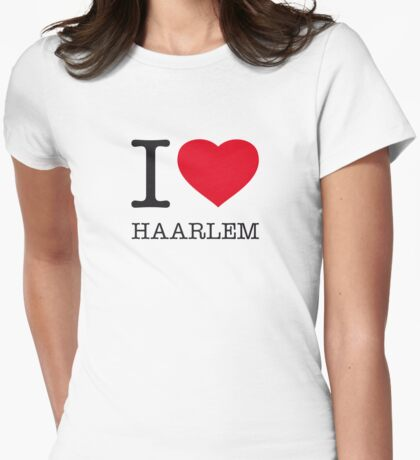 I ♥ HAARLEM Womens Fitted T-Shirt