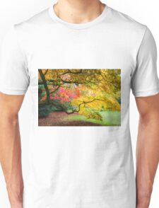 Japanese Maples (Acer Palmatum) in Autumn Colours Unisex T-Shirt