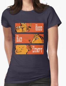 The Good, the Bad and the Lumpy Womens Fitted T-Shirt