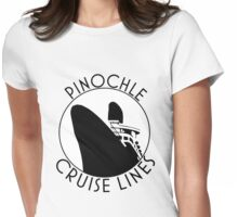 Pinochle Cruise Lines Classics Womens Fitted T-Shirt