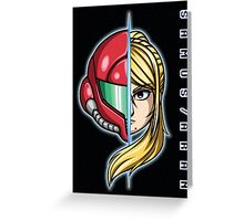 SAMUS/ARAN Greeting Card