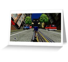 Sonic Adventure 2 Greeting Card