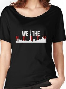 Raptors We The North Toronto Skyline Women's Relaxed Fit T-Shirt