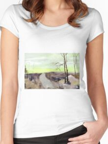 Wilderness 2 Women's Fitted Scoop T-Shirt
