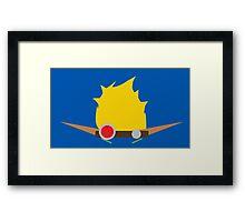 Jak & Daxter - Jak - Minimal Design Framed Print