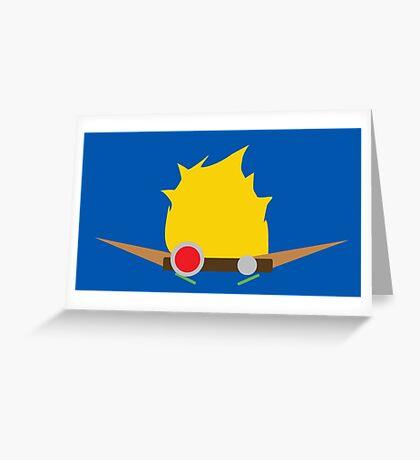Jak & Daxter - Jak - Minimal Design Greeting Card