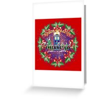 TIMELORDS SEASON GREETINGS  Greeting Card