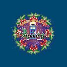 TIMELORDS SEASON GREETINGS  by karmadesigner