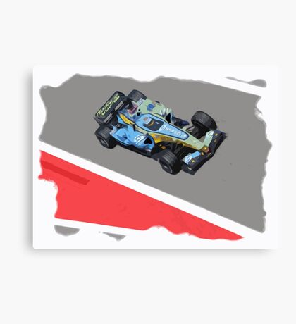 Alonso - Renault Canvas Print