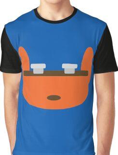 Jak & Daxter - Daxter - Minimal Design Graphic T-Shirt