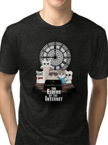Elders of the Internet Tri-blend T-Shirt