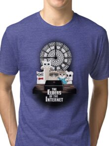 Elders of the Internet Tri-blend T-Shirt