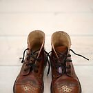 Baby Brogue Boots by Flo Smith