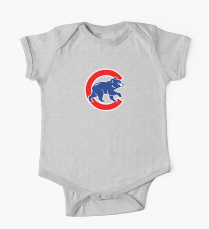 Chicago Cubs logo 2 One Piece - Short Sleeve