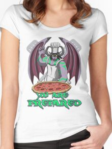 You are prepared Women's Fitted Scoop T-Shirt