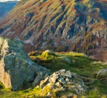 The Langdale Pikes Sticker
