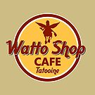 WATTO SHOP- TATOOINE  by karmadesigner
