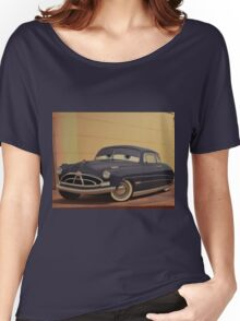 Doc Hudson Paul Newman Doctor Hudson Hornet Women's Relaxed Fit T-Shirt