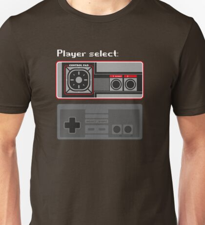 Select player 01 Unisex T-Shirt