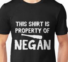 TWD - Property of Negan. Unisex T-Shirt