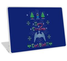 MERRY CHRISTMAS AND DON'T BLINK!  Laptop Skin