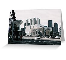 Uptown Greeting Card