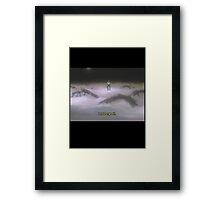 //EVANGELION SCREEN #4// Framed Print