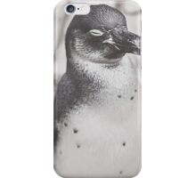 Portrait of a Penguin iPhone Case/Skin
