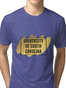 University of South Carolina Tri-blend T-Shirt